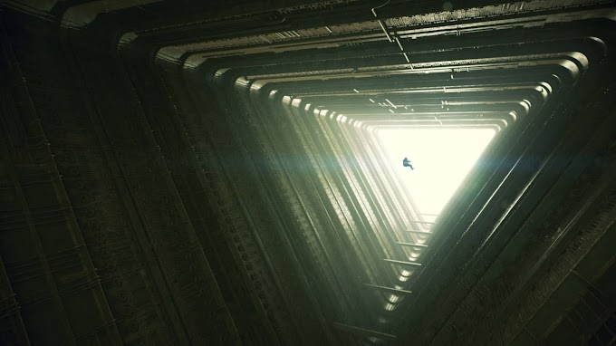 Sci-Fi Construção Passagem Túnel