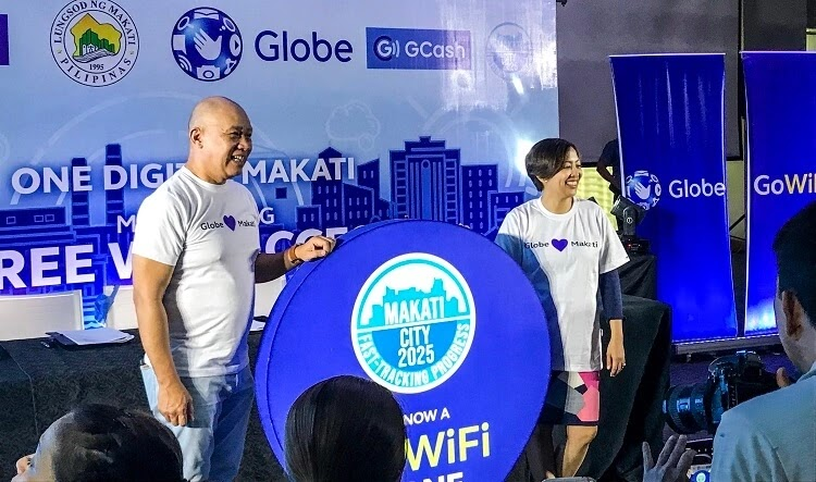 Makati Partners with Globe for Free Public WiFi