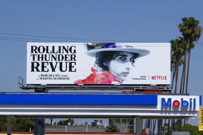 Rolling Thunder Revue movie billboard