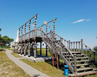 Опішня. Музей-заповідник українського гончарства. Оглядовий майданчик