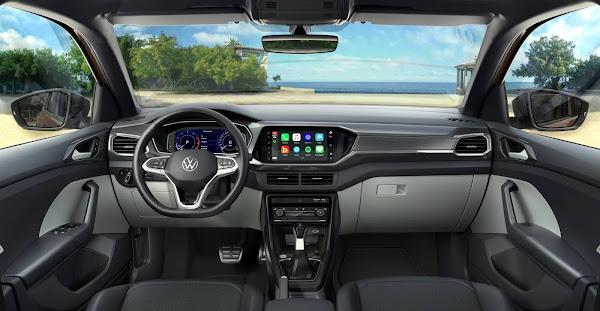 Volkswagen T-Cross 2022 tem novidades - veja preços e fotos