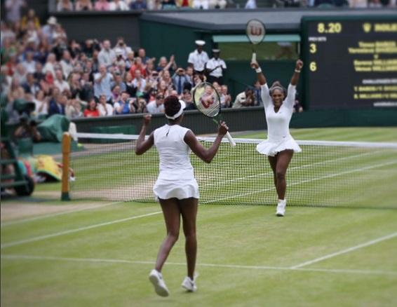 Gelar Double ke 6 Williams Bersaudara di Grand Slam  (Wimbledon 2016)