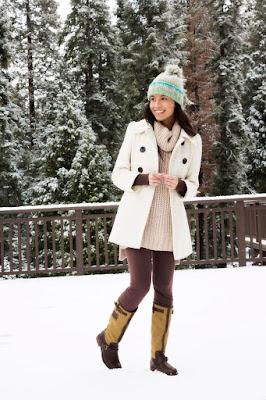 looks con botas de nieve