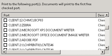 Trentent -- One and Only : Citrix Universal Print Server