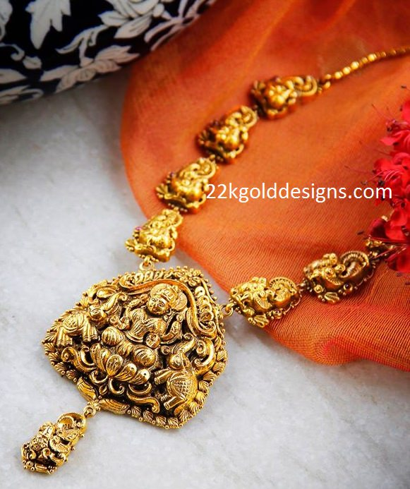 Traditional Nakshi Gold Necklace