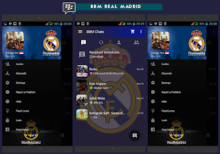 BBM MOD V3.0.0.18 Tema Real Madrid Terbaru