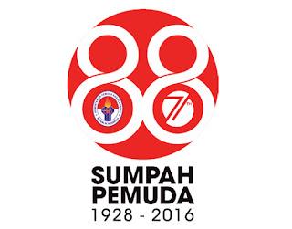 Logo Hari Sumpah Pemuda tahun 2016