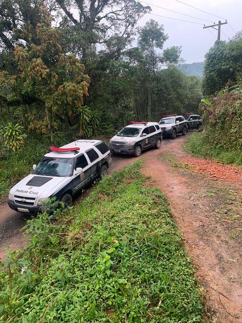 Polícia Civil liberta vítima seqüestrada que era mantida em cativeiro no Vale do Ribeira