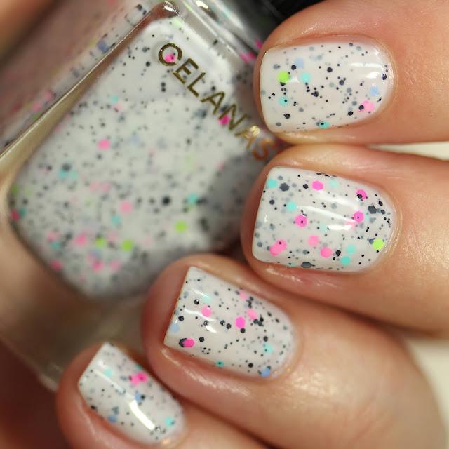 Celanaste Cake Pops swatch nail polish