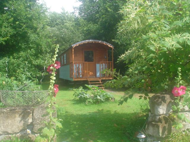 Case su ruote nel giardino