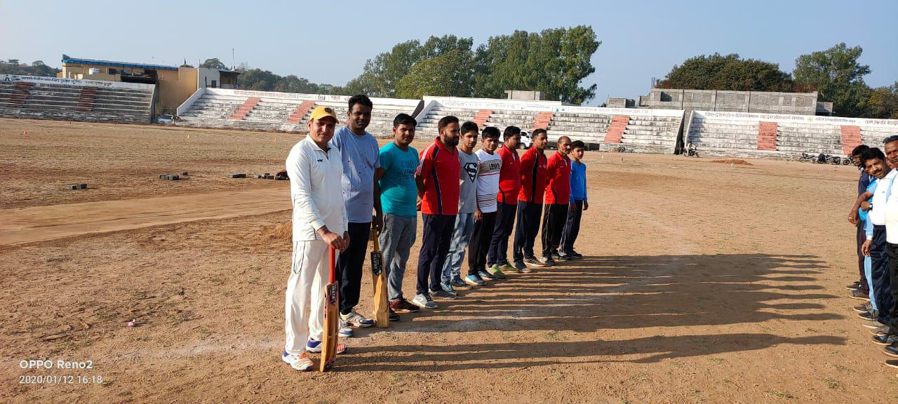 11 वां विभागीय टेनिस बॉल क्रिकेट प्रतियोगिता का आयोजन दिसम्बर 2020 में