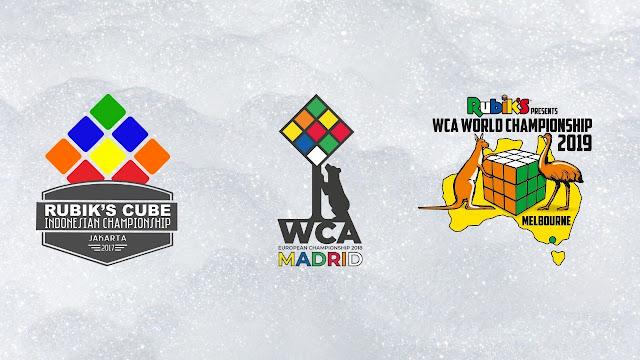 tingkatan kompetisi rubik resmi WCA lomba official