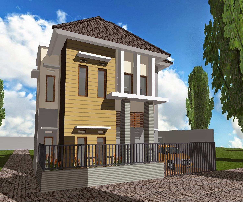 11 Model Rumah Minimalis 2 Lantai Type 21 Modern 2016