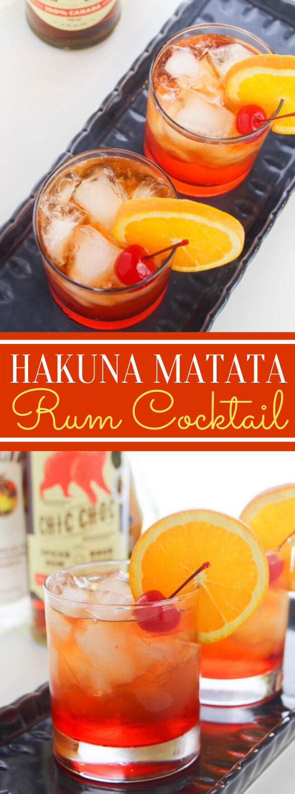 HAKUNA MATATA COCKTAIL #drinks #partydrink