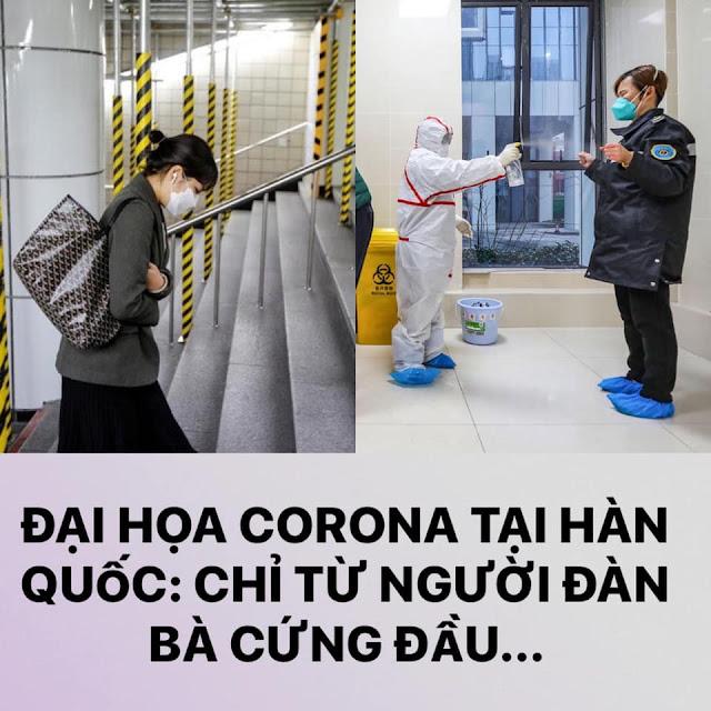 Chuyện bà Hàn Quốc cứng đầu, gây ra thảm họa lây nhiễm virus Corona ở Hàn Quốc