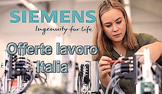 Offerte lavoro Siemens - adessolavoro.com