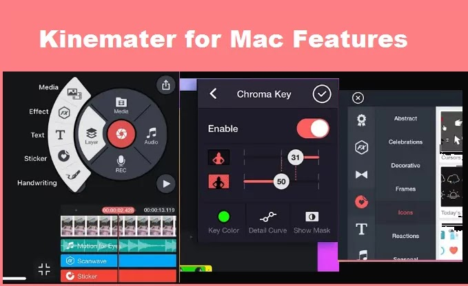 kinemaster for mac features