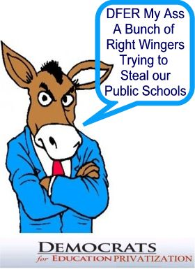 DFER Fake Democrats for Education Privatization (click on Picture)