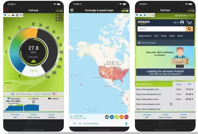 أفضل 10 تطبيقات لاختبار سرعة الواي فاي لأجهزة ايفون