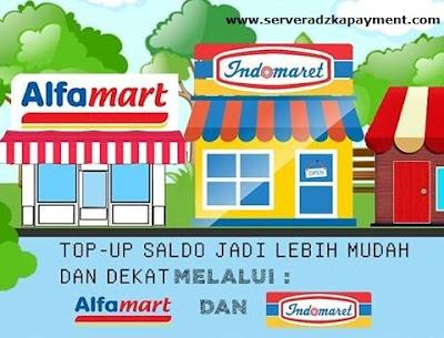 Cara Deposit Via Alfamart dan Indomaret