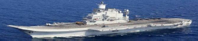 Russia's Sevmash Modernizes Indian Shipyard For INS Vikramaditya Aircraft Carrier Upgrades