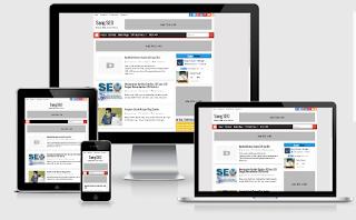 Download Template Sang SEO, Responsive, SEO Friendly dan Fast Loading untuk Blog