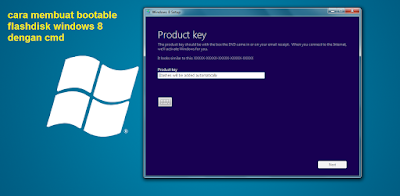 cara membuat bootable flashdisk windows 8 dengan cmd