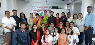 महिला दिवस पर निबंध प्रतियोगिता का आयोजन | #NayaSaberaNetwork