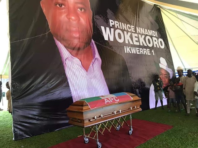 FORMER MAYOR OF PORT HARCOURT AND APC CHIEFTAIN LAID TO REST