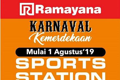 Promo Sportsstation Ramayana Karnaval Kemerdekaan Agustus 2019