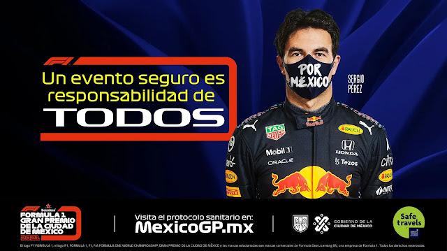 Protocolo de ingreso Mexico GP 2021