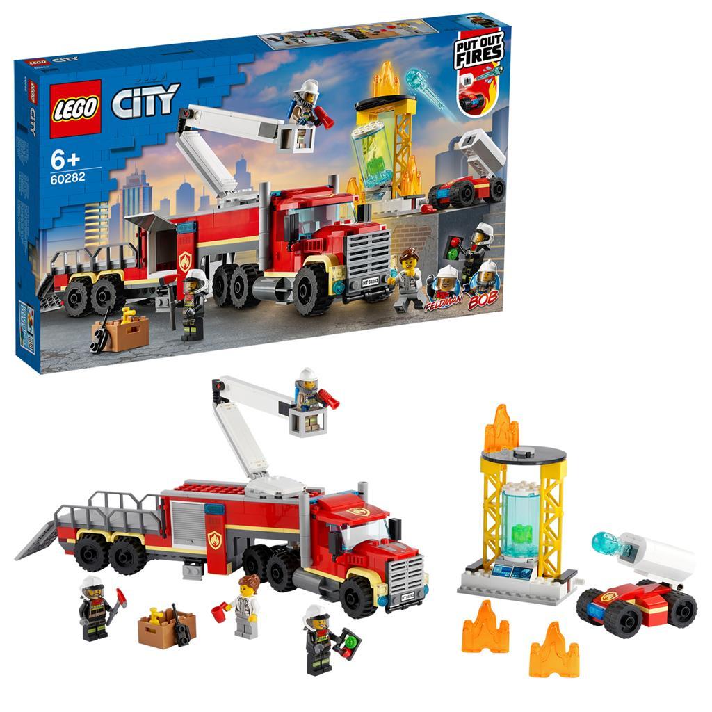 レゴ(LEGO) シティ モバイル消防HQ 60282
