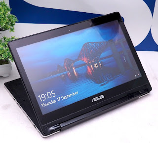 Laptop Asus Transformer Book Flip TP300LA ( bekas )