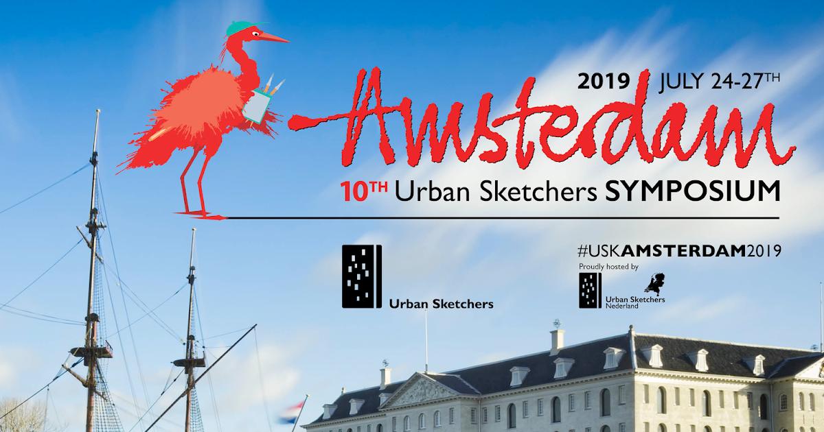 USk Amsterdam 2019 | Urban Sketchers