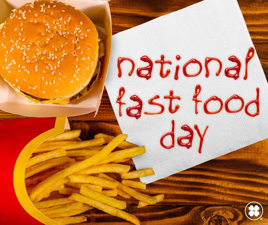 National Fast Food Day Wishes For Facebook