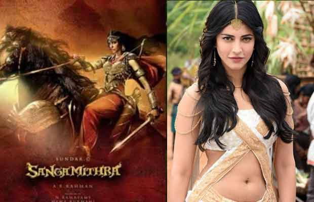 OMG! Shruti Haasan Walks Out Of Sundar C's Epic Sangamithra