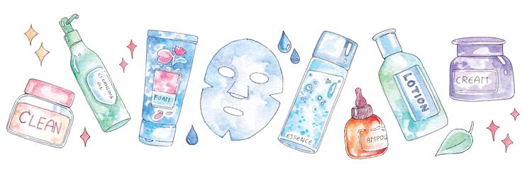 Korean skincare steps for dry skin