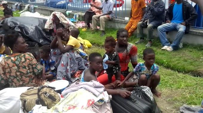 Togolese refugees enter Ghana as political crisis spread