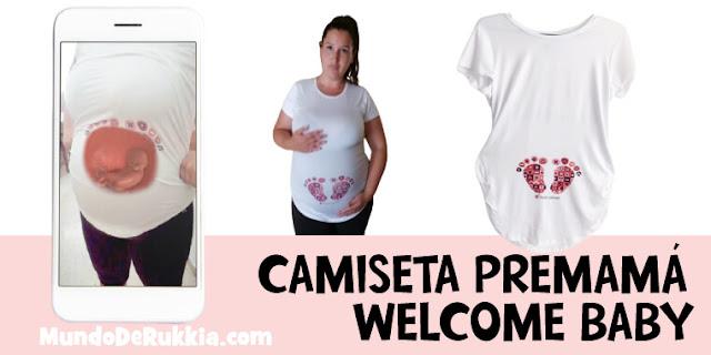 camiseta-welcome-baby-premama-regalo-embarazadas