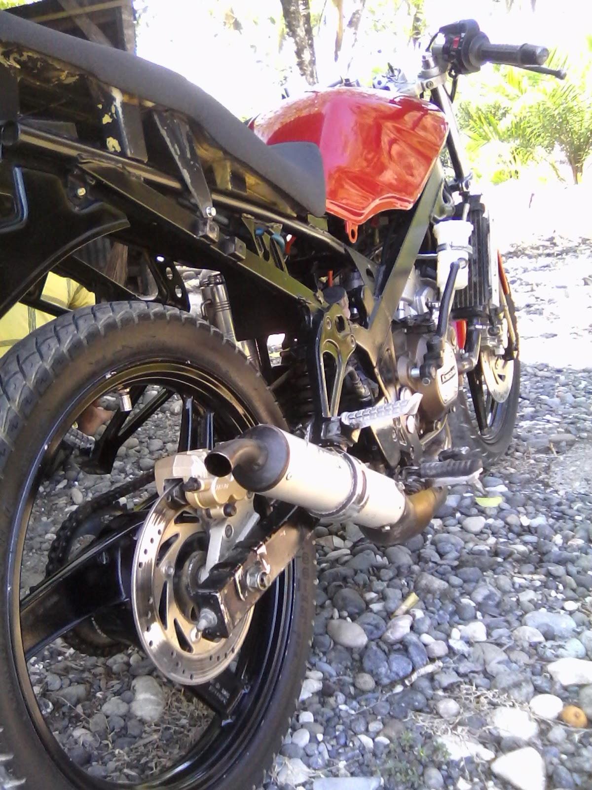 Modifikasi Motor Untuk Usaha Beemotor Kaisar Triseda Rx 250 Cc Long Box Baru Cat Moto