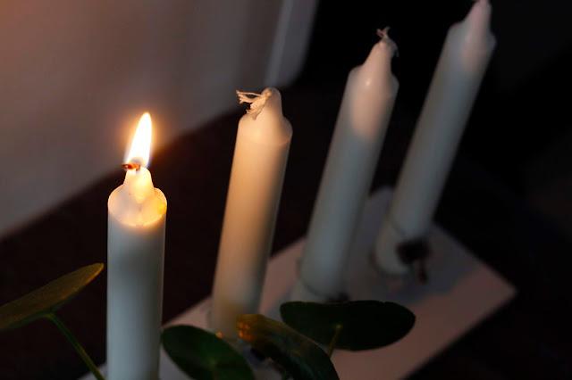 kierrätys kynttilä