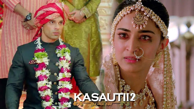 Spoiler Alert : Upset Bajaj questions self seeing AnuPre pure love in Kasauti Zindagi Kay 2