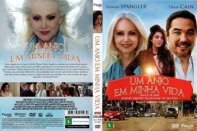 Capa DVD Um Anjo Em Minha Vida