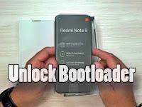 Cara UBL (Unlock Bootloader)  Redmi Note 9 (Merlin)