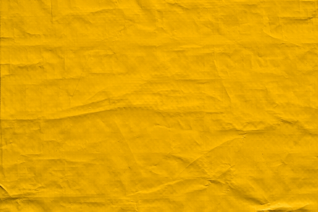 Yellow plastic bag texture
