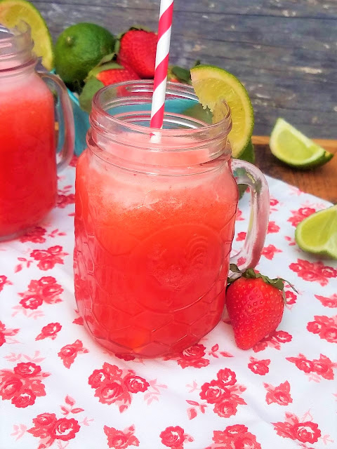 how to make a gallon of limeade