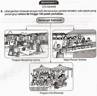 tips bahagain c bahasa melayu pt3