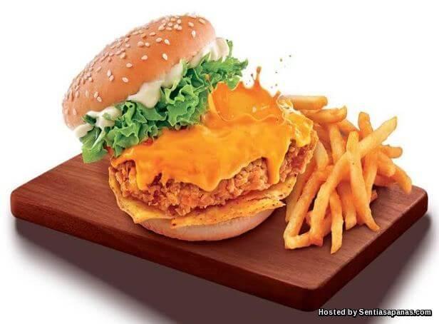Burger Bersaiz Besar