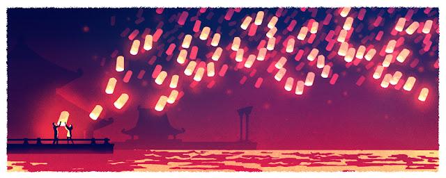 Lantern Festival 2016 - Google Doodle