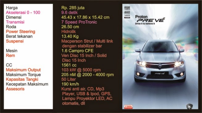 Review Mobil Proton Indonesia Terbaik Produk 1 Proton Preve